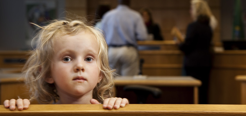 child in court